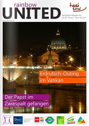 Artikel von Dr. Michael Peintner, Sexualberater aus Südtirol, im rainbow united, hosi tirol, innsbruck