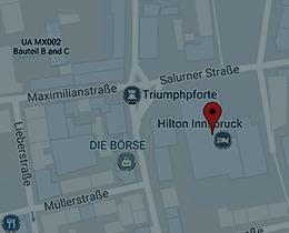 Dr. Michael Peintner, Anfahrt und Karte zur Praxis in Innsbruck des Psychologen in Tirol